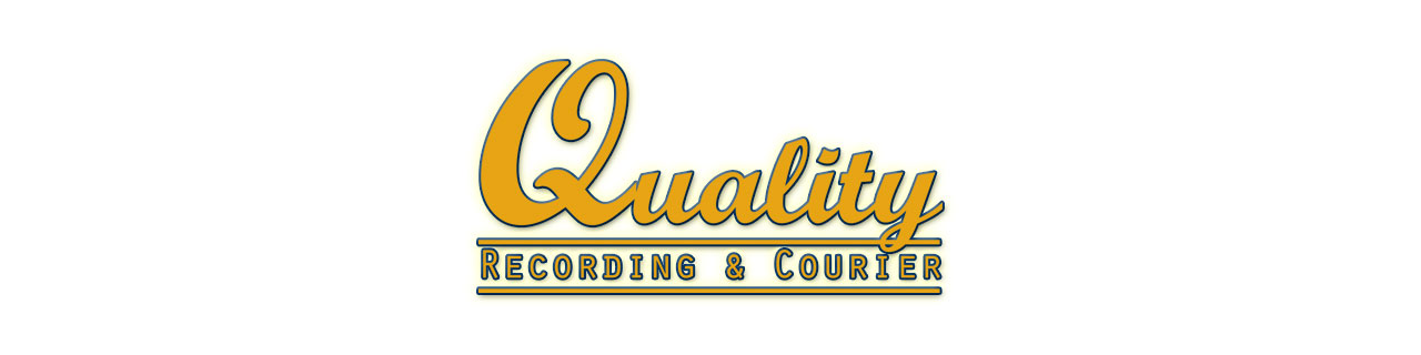 Quality Recording and Courier